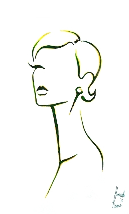 Fashion illustration - Grace - fashionillustration - henrieke-4064 | ello
