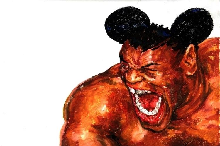 Tyson - illustration, characterdesign - ramiroalonso | ello