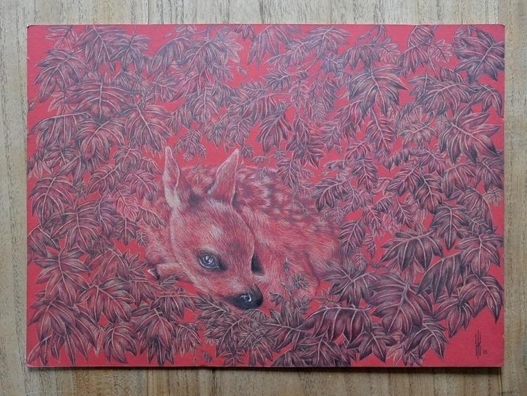 Hidden Hidden, young fawn hidin - henrieke-4064 | ello