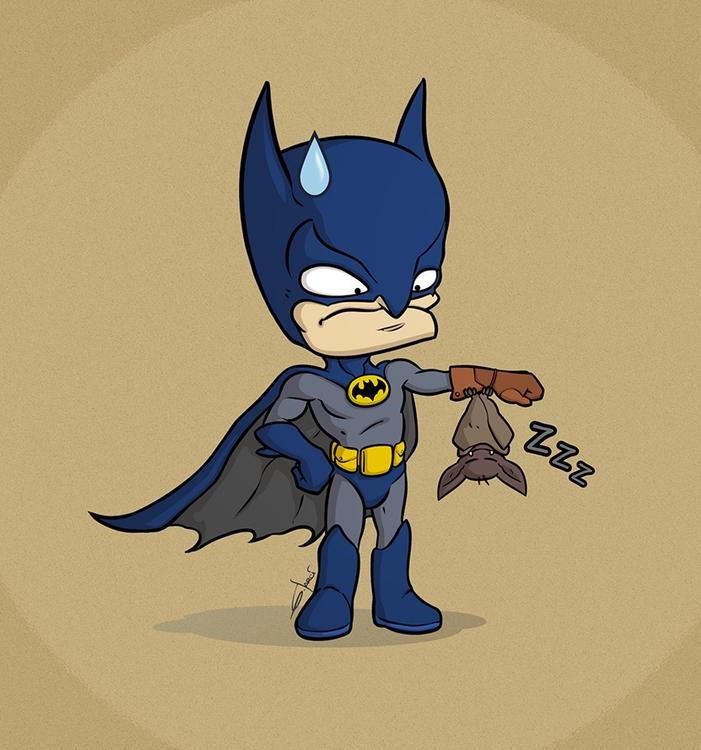 Batman - batman, bat, fanart, fanart - sarcix | ello