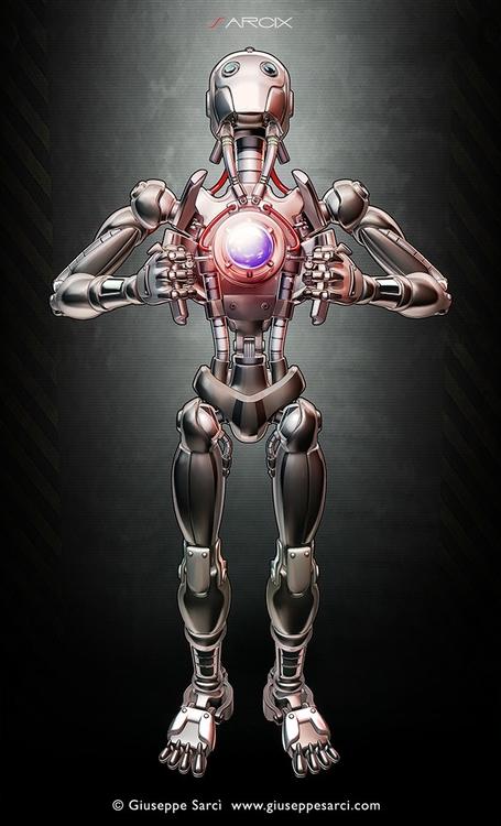 Cyborg - cyborg, robot, android - sarcix   ello