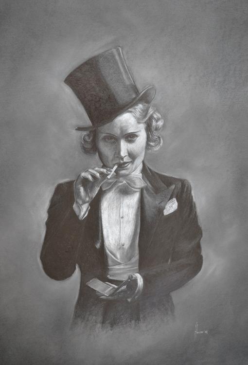 Marlene Dietrich - illustration - henrieke-4064 | ello