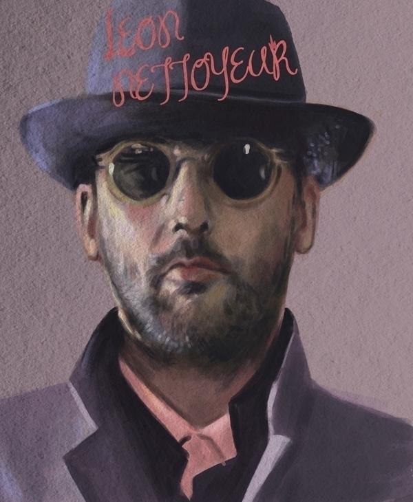 Digital portrait - digitalart, texture - sarahm-4841 | ello