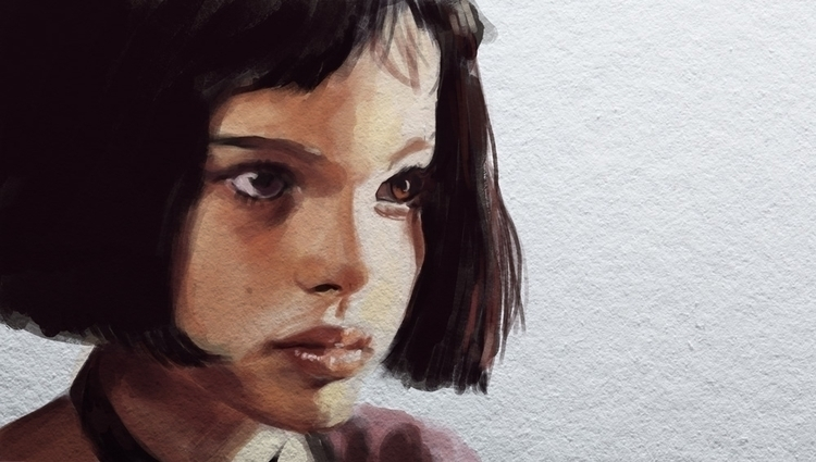 Digital portrait - Mathilda, actor - sarahm-4841 | ello
