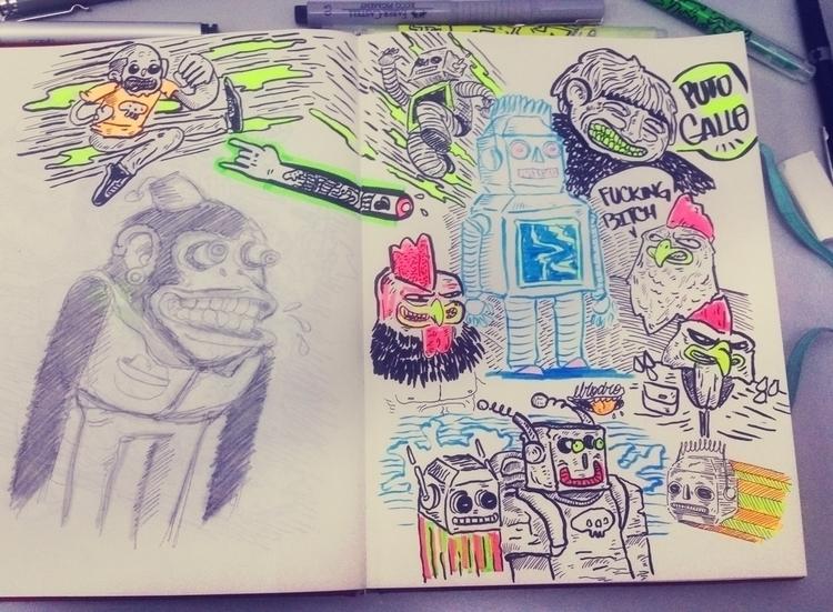 sketch 1 - sketchbook, ilustracion - elrodro | ello