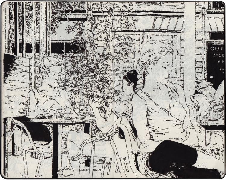 sketchbook - gommette | ello