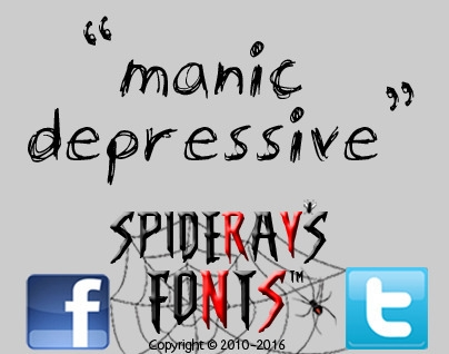 font originally created raise m - spideraysfonts-1396 | ello