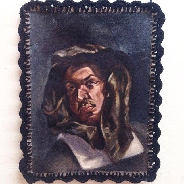 14 18 Oil Canvas - portrait, mannnaz - mannnaz | ello