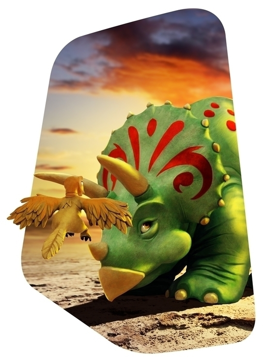 Plasticine dinosaurs - dinosaur - adamlapko | ello