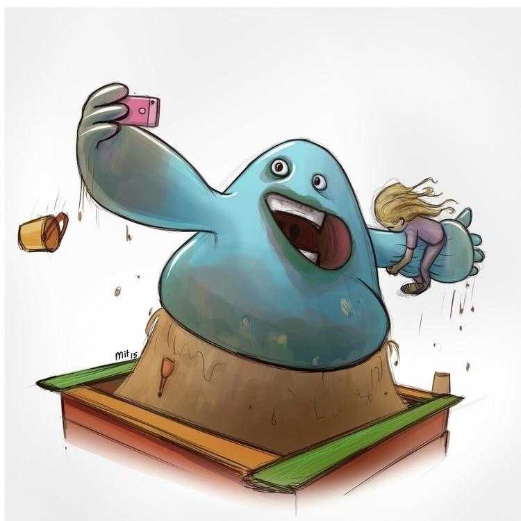 illustration, characterdesign - mit511   ello