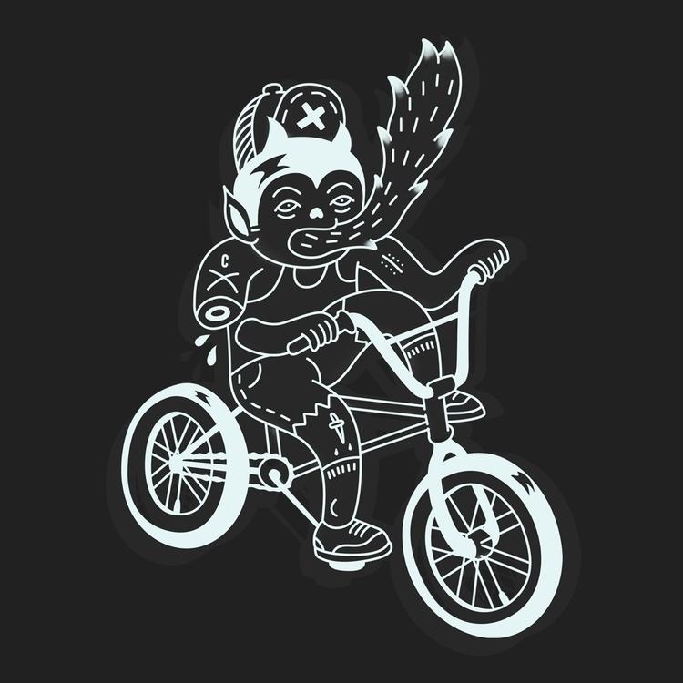 EvilBoy - evil, evilboy, bike, street - cote-1413 | ello