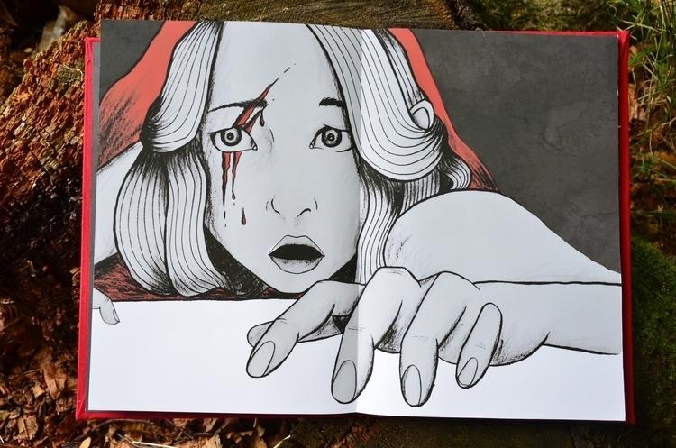 illustration, fairytale, bloody - christinarrr | ello