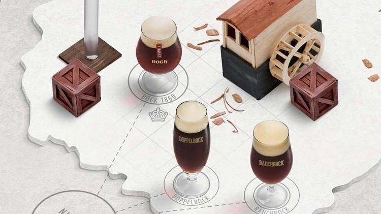 Part beer map - craft, handmade - adamlapko | ello