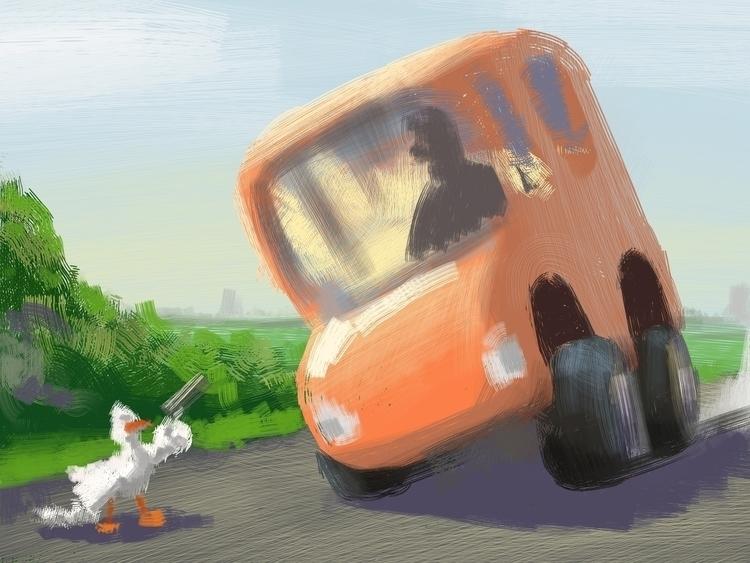 illustration, characterdesign - mit511 | ello