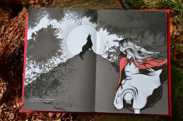 illustration, painting, fairytale - christinarrr | ello