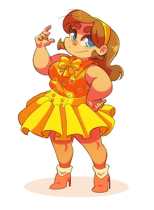Pretty Spring Outfit - illustration - saetje | ello
