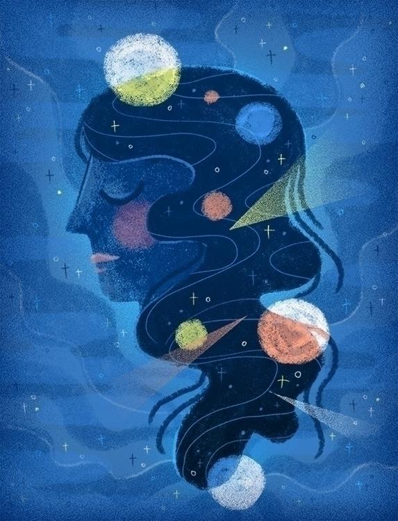 space, universe, planets, moon - stephaniekubo-8873 | ello