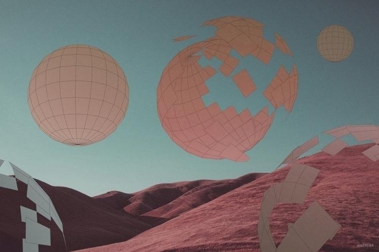 Clash Perspective - 3d, collage - alexmercier | ello