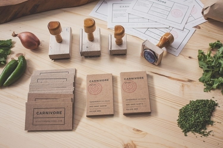 Branding project Carnivore, cat - alexmercier | ello