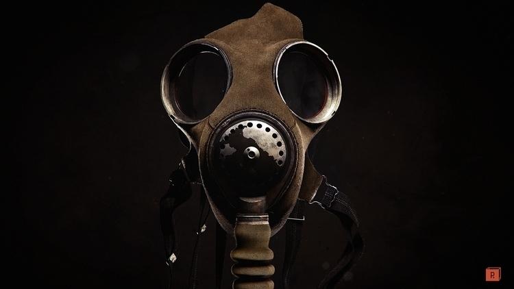 Gas Mask asset Texture/Modeling - paulhpaulino | ello
