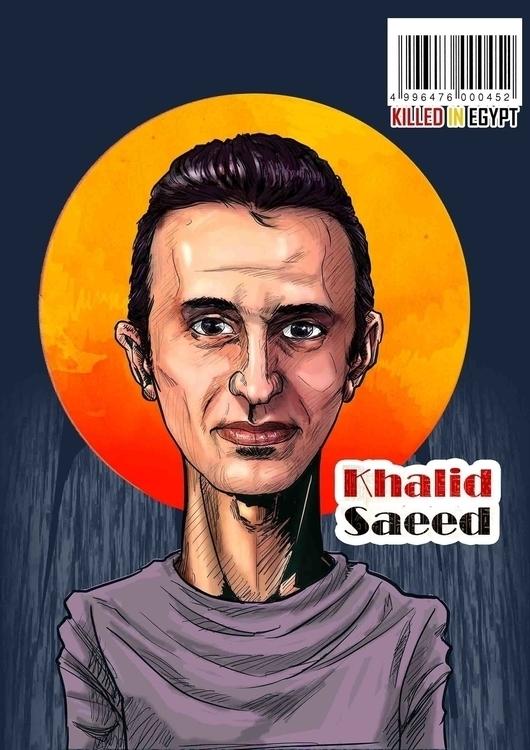 Khalid Saeed: young Egyptian ma - mahmoudswielam | ello