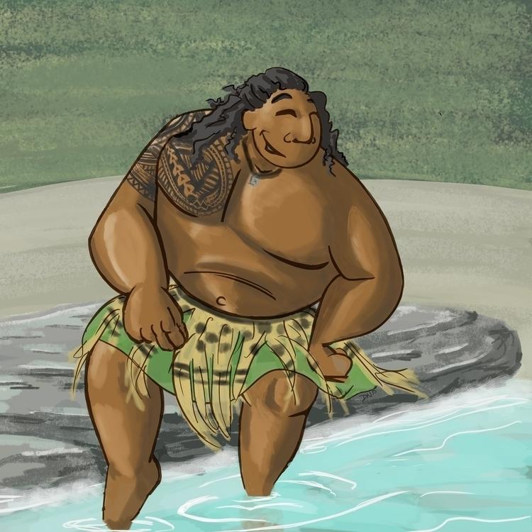 OCEANIA Packet (5 8) character  - dereknochefranca | ello