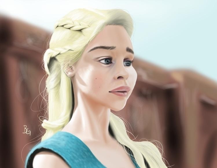 Mother Dragons - illustration, caricature - bwgarlick | ello