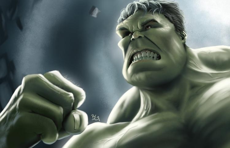 Hulk - hulk, marvelcinematicuniverse - bwgarlick | ello