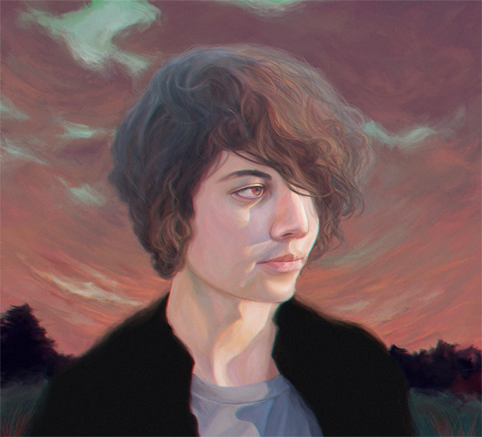 Miguel - illustration, painting - devia | ello