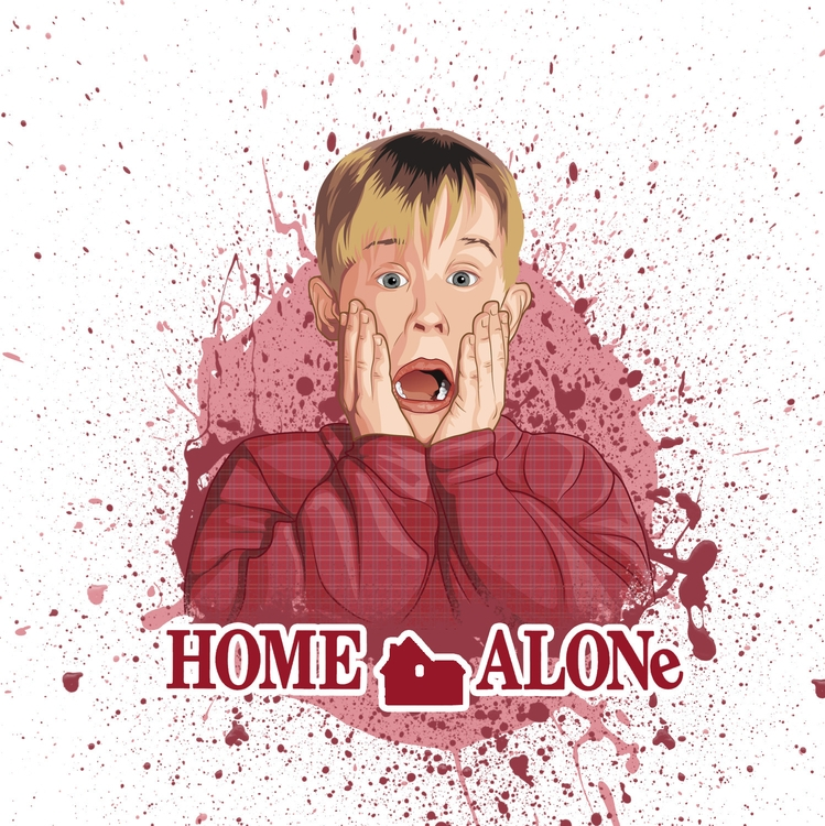 Vector Art - HomeAlone, vector, vectorart - pukkaprintgifts | ello