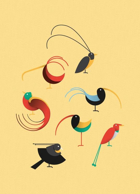 Birds Paradise - birds, birdsofparadise - andrearubele | ello