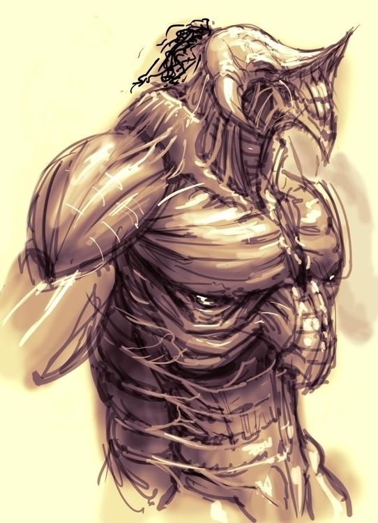 Centaur creature design - #leftraro,cristianmontes,conceprtart,characterdesign,illustration,tedfield,radarpictures - cristianmonteslynch | ello