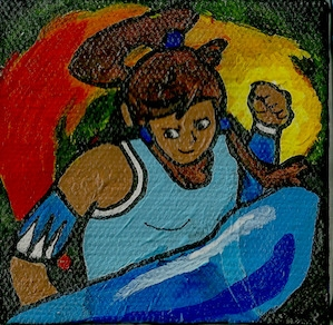 3 mini canvas Korra Avatar: Leg - ashleywilliams-1156 | ello
