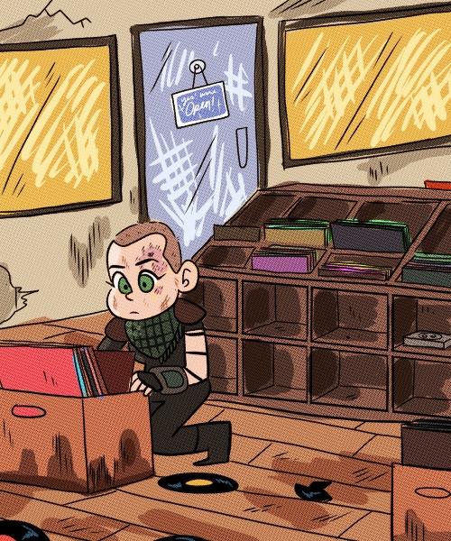 fallout, illustration - sailorswayze | ello