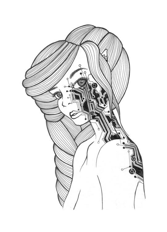 Human technology life technolog - christinarrr | ello
