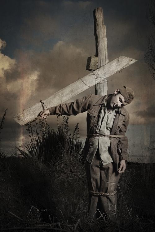 Lone Soldier Cross - foghetamine - marham1160 | ello
