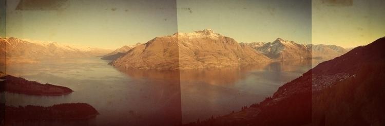 Lake Wakatipu - newzealand, landscape - marham1160 | ello