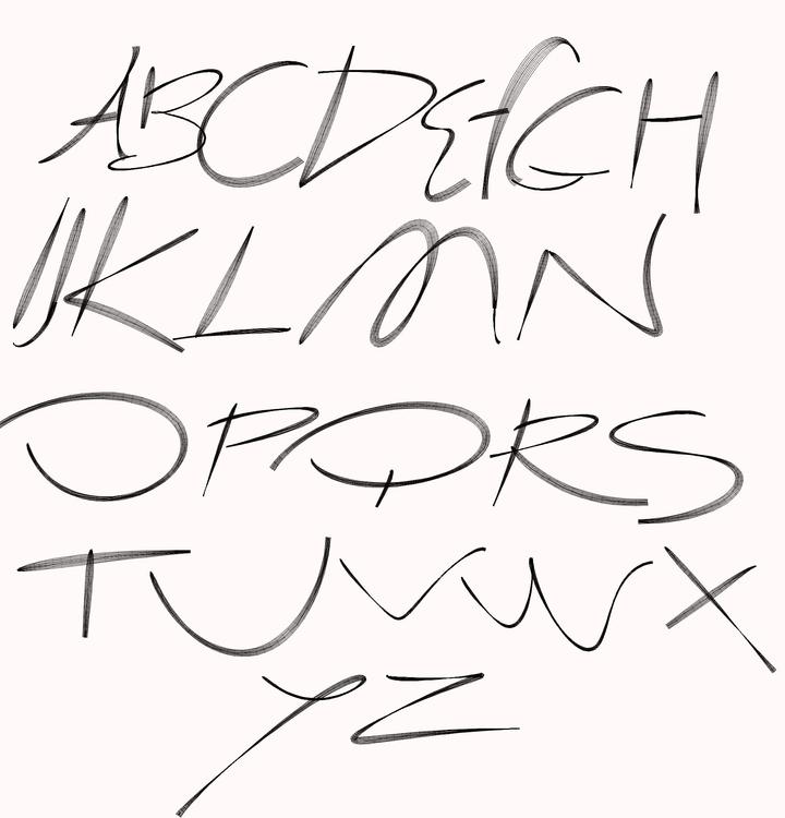font - typography - alexandrrykachev | ello