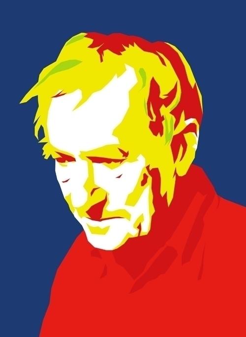 Bengt - illustration, portrait - petica | ello