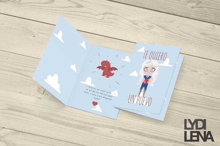 Game Thrones Card - gameofthrones - lydilena | ello
