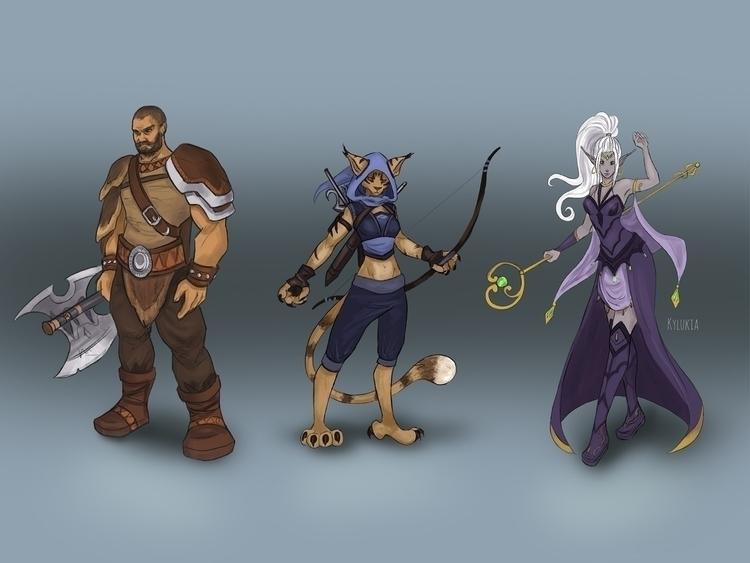 fantasy, characterdesign, character - kylukia | ello