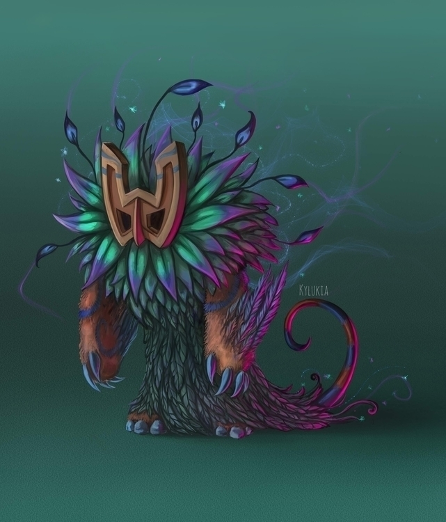 fantasy, creature, forestcreature - kylukia | ello
