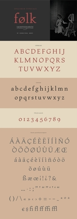 Folk Font - typography - danielvidal-5707 | ello