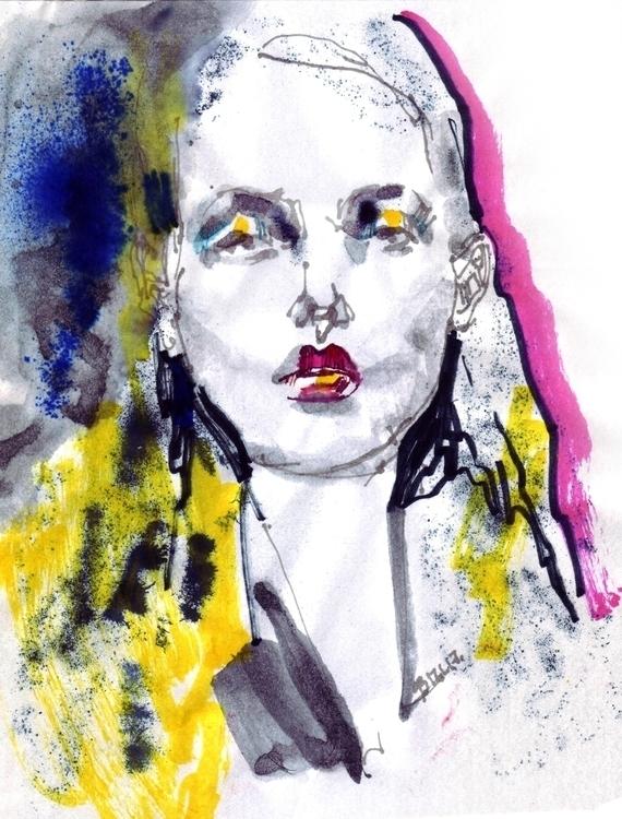 Glaub mir - illustration, fashion - gretaberlin | ello
