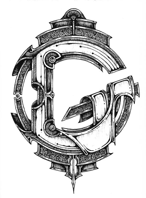 typography - tenenbris | ello