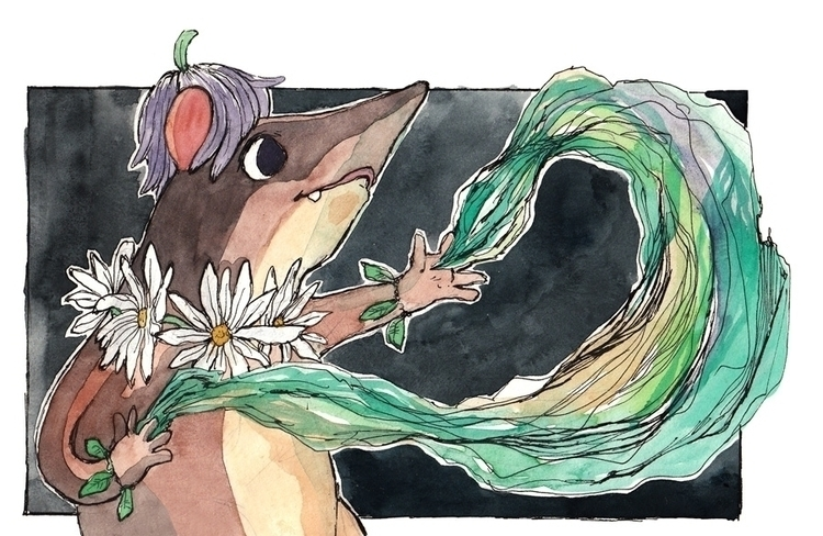 Magical forest shrew - rodent, magic - jkirkham | ello