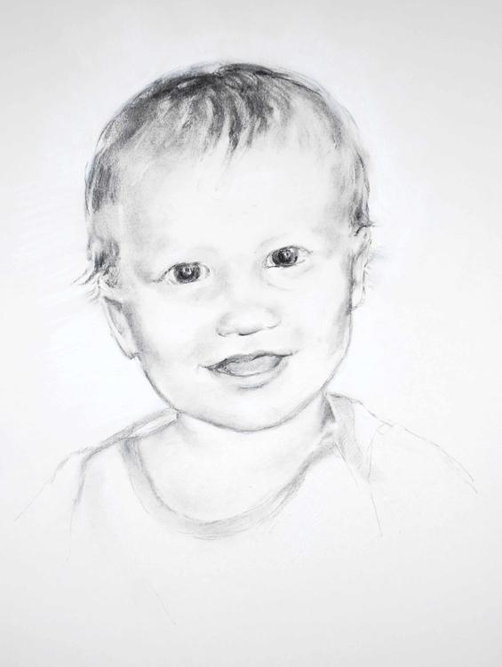 Portrait Calvin Olafson - drawing - brightspirit | ello