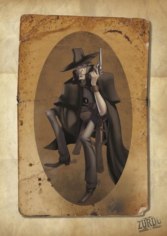 Zurdo character - conceptdesign - danimontero | ello