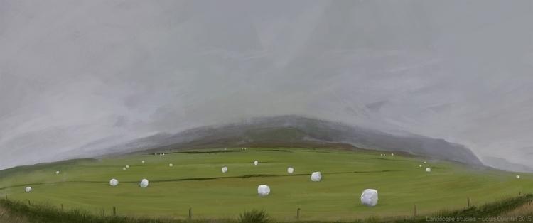 Island - painting, digitalpainting - ultrasqull | ello