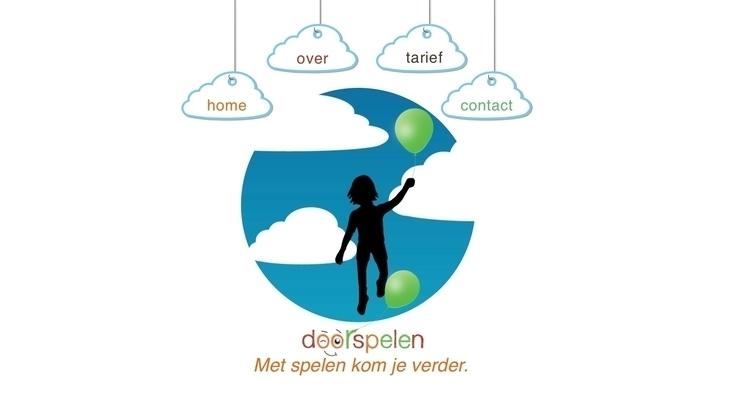 doorspelen website - webdesign - pixelpakhuys | ello
